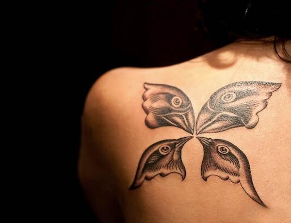 butterfly tattoos altro che belen elogio della nudit