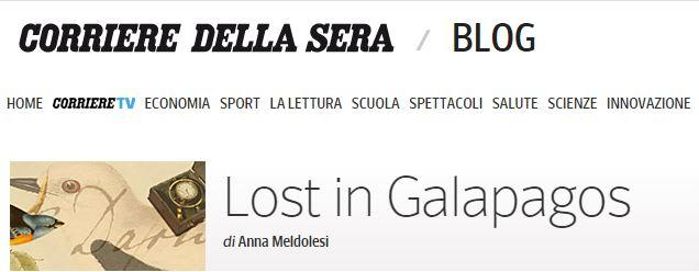 testata blog corriere